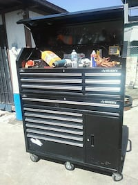 black and gray tool cabinet Oakland, 94621