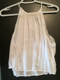 women's white spaghetti strap top Thorold, L2V 4M1