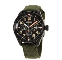 Citizen eco drive military pilot watch Toronto, M2N