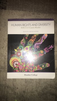 Selling Human Rights and Diversity Textbook Toronto