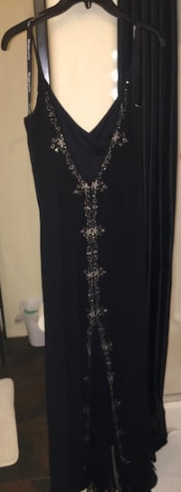 black and gray floral sleeveless dress Las Vegas, 89139
