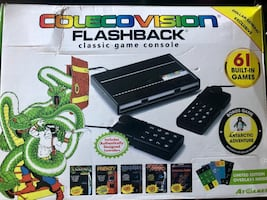 Colecovision Game console, 61 games