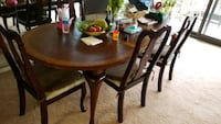 brown wooden dining table set Falls Church, 22041