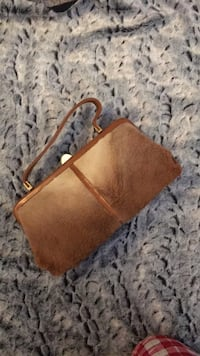 vintage kangaroo fur purse from aistralia