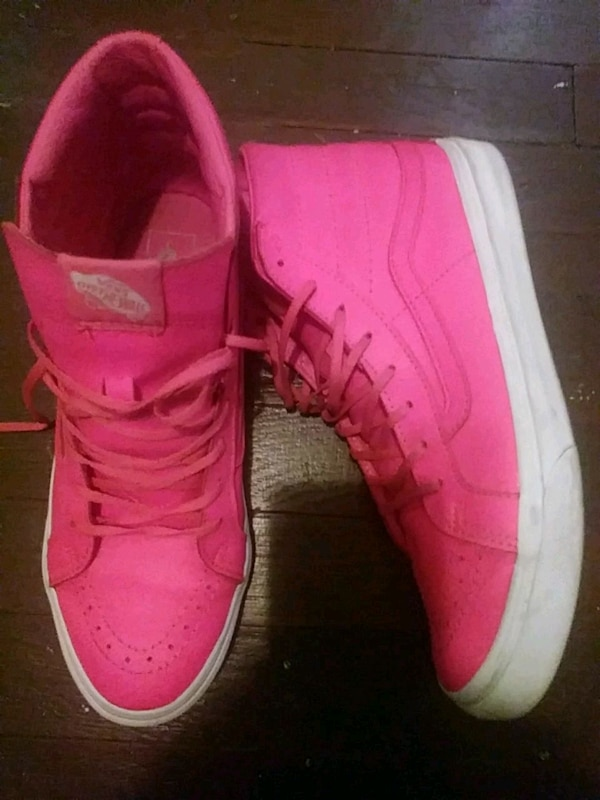 6a3cf795f85453 Used Hot pink High top Vans for sale in Los Angeles - letgo