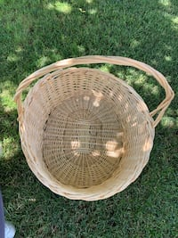 Extra large wicker basket 25X25 Rosamond, 93560