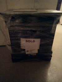 Bed frame and end table full size have the paperwork asking price $100