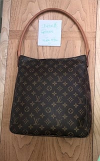 Black and brown louis vuitton monogram leather bag Silver Spring, 20906