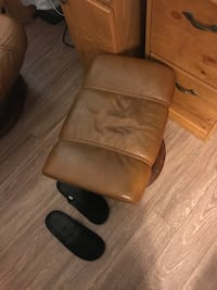 Stress less recliner and foot rest Hudson, 34667