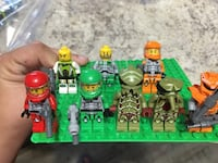 LEGO galaxy squad figures and accessories  Pflugerville, 78660