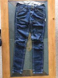 blue denim straight-cut jeans Alexandria, 22312