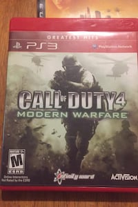 Call of Duty Modern Warfare 4 PlayStation 3