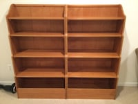 Three Crate and Barrell Kids (Crate & Kids) bookcases  RESTON