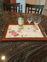 Hand Crafted Wood Tray Oak Bluff, R0G 1N0