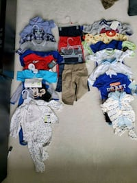 Brand new unused baby boy clothes Surrey, V3R