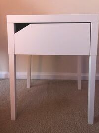 IKEA white night stand