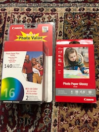 "190 4""x6"" canon photo paper glossy Covina, 91724"