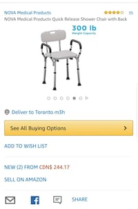 Safety chair brand new in box Mississauga, L5K 1T5