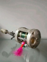 gray and black fishing reel Duncan, V9L 1M8