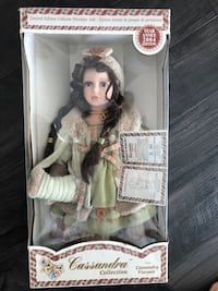 Cassandra Collection Limited Edition Porcelain Doll Mississauga, L5B 4N4