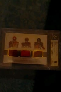 National Treasures NFL rookie gear Mahomes Joe Mixon Foreman only /25 Indianapolis, 46203