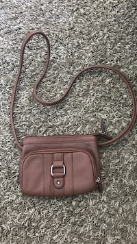 brown leather crossbody bag Chino, 91710