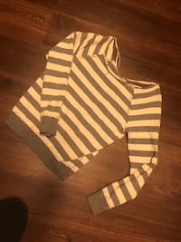 white and gray striped sweatshirt Industry, 91745