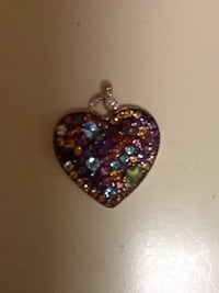 Gold diamond and birthstone charm  Gaithersburg, 20877