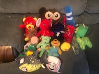 Lot of Stuffed Animals Crossposted