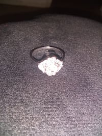 silver-colored cz ring Albuquerque
