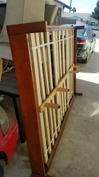 Full Size Wooden Bed Frame Los Angeles, 90011