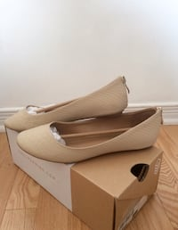 Beige leather classic shoes  Laval, H7X 4B6