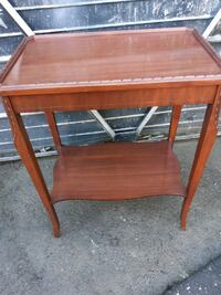Harvest Furniture Company Two Level Wood Table