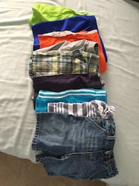 9 Boys Shorts size 3T all for $10 Mississauga, L5W