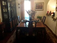 Dining Room Table w/ Chairs and China Cabinet Woodbridge, 22193