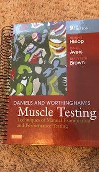Daniels and Worthingham's  Muscle Testing Nashville, 37027