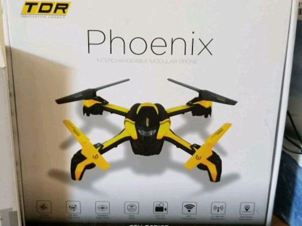 Used Drones For Sale >> Used Red And Black Quadcopter Drone For Sale In San Jose Letgo