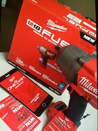 "Milwaukee FUEL ONE-KEY: New High Torque Impact Wrench 1/2"" Friction Ring Bare New Brand Los Angeles, 91324"