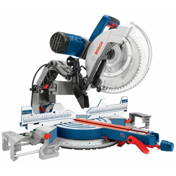 NEW Bosch Glide 12-in 15-Amp Dual Bevel Sliding Mite Saw