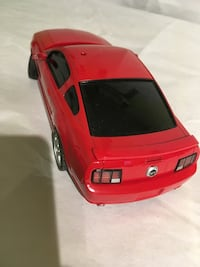red coupe die-cast model Toronto, M1R