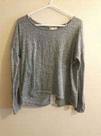 Grey shirt with lace back Waterloo, N2L 3K4