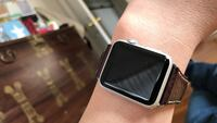 aluminum case Apple watch with black sports band Los Angeles, 90026