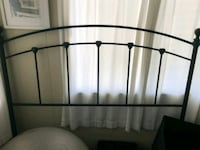 black metal headboard Vista, 92084
