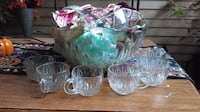Great for the holidays Glass Punch Bowl Omaha