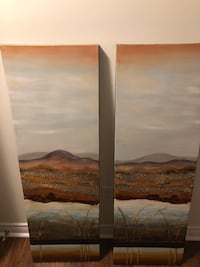 2 panel Canvas Painting