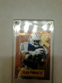 Team Pinnacle American football trading card Santa Rosa, 95404