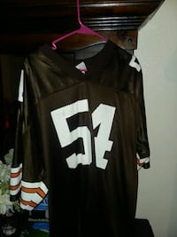 black and white NFL jersey Fayette, 43521