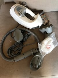 white and gray canister vacuum cleaner Prairieville, 70769