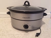 Crock-Pot Stainless. Slow Cooker (Pierrefonds ) Montréal, H9A 1A3