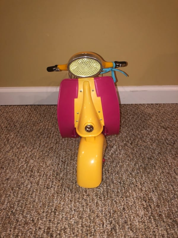 American girl doll scooter  cd41a3ee-bf81-4ccc-9991-e7fe7d8f81b9